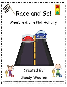 2.MD.9 Race and Go! Measure and Line Plot Small Group or Math Station Activity