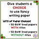 Writing Paper Set Christmas & Winter Graphics and Various Line Spacing Options