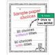 Holiday Writing Paper Set - Hanukkah, Kwanzaa, Christmas - 100 Pages of Choices!