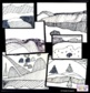 Art Lesson - Line Landscape - Math Integrated