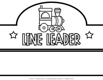 Line Leader Crowns