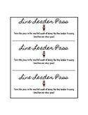 Line Leader Pass