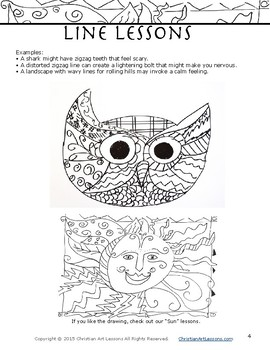 Art Lesson: Line Lessons