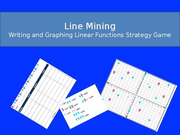 Line Mining- Writing and Graphing Linear equations