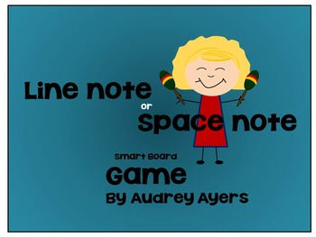 Line Or Space Note Smart Board Game--