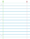 Lined Paper #2