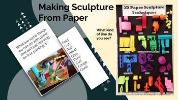 Line Paper Sculpture