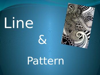 Line Pattern Oaxaca Carving Power Point