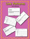 Line Patterns - For Math Centers - Seat Work - 40 patterns