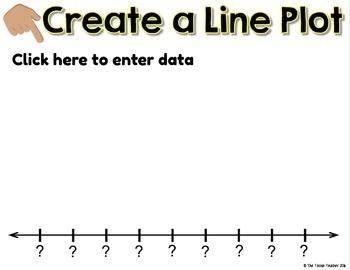 Line Plot Activities in Google Slides™