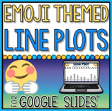 Digital Line Plot Activities in Google Slides™