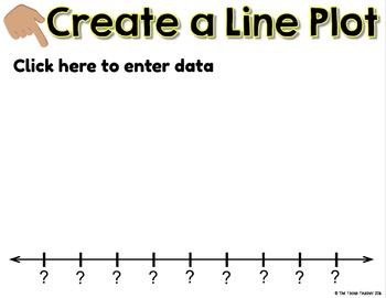 Line Plot Activities in PowerPoint