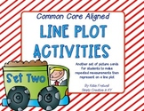 Line Plot Activities or Center