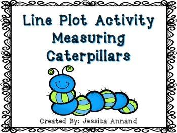 Line Plot Activity Measuring Caterpillars
