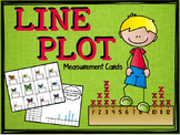 "Fraction Measurements Activities ""Line Plot"" (Measurement Task Cards)"