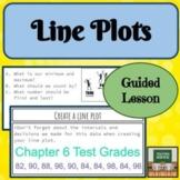 Line Plot - Dot Plot - Activities - Middle School Data Analysis