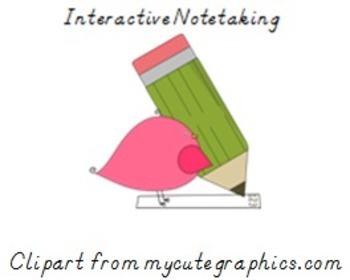 Line Plot Interactive Notetaking
