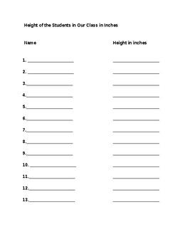 Line Plot/ Measuring/ Mean, Median, Mode