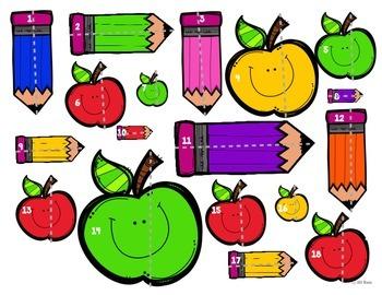 Line Plot Math Center Task Cards August: Measure & Interpret Data 3.MD.B.4