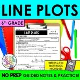 Line Plot Notes