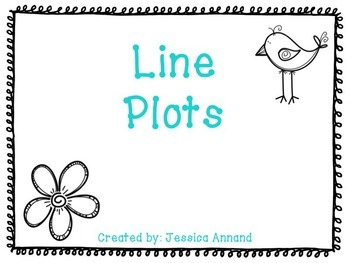 Line Plot Powerpoint and Worksheet