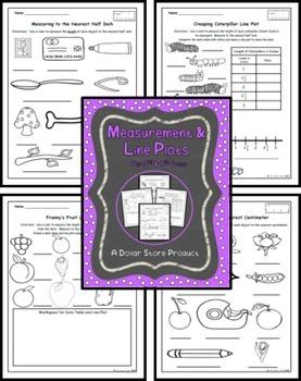 Line Plot Practice / Measurement (3rd Grade)