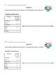 Line Plot Practice - Plotting data on Open Number Lines