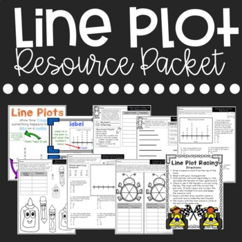 Line Plot Activities and Resource Packet