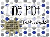 Line Plot Task Cards - Grade 4