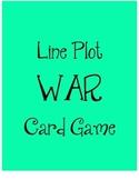 Line Plot WAR Card Game