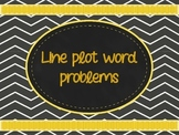 Line Plot Word Problems