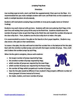 Line Plot Worksheets and Activities