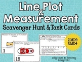 Line Plot and Measurement Scavenger Hunt