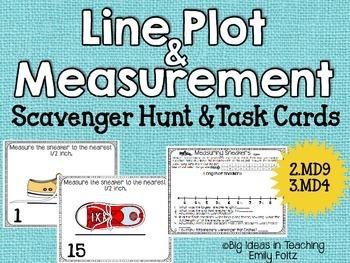 Line Plot and Measurement Scavenger Hunt