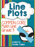 Line Plots - Third Grade Math Unit