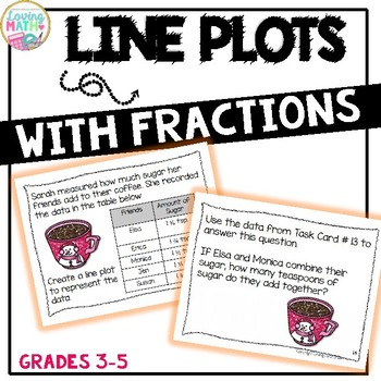 Line Plots with Fractions Activities