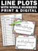 Line Plots Task Cards 2nd and 3rd Grade Common Core Math G