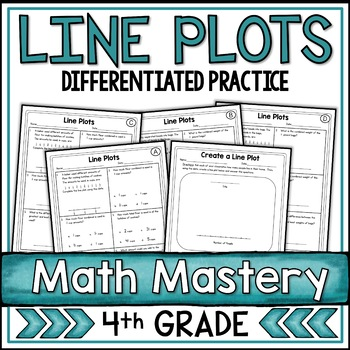 Line Plots Worksheets