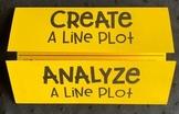 Line Plots (Foldable)