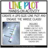 Line Plots: Lifesize Hands-On Activity 4.MD.4 and 5.MD.2