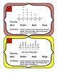 Line Plots Mean Median Mode Range Task Cards Data Analysis Charts