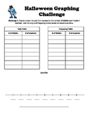 Line Plots, Pictographs, and Bar Graphs Halloween Activity