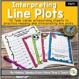 Line Plots: Task Cards