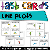 Line Plots Task Cards {CC Aligned 4.MD.4}