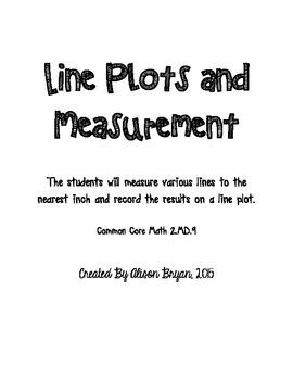 Line Plots and Measurement