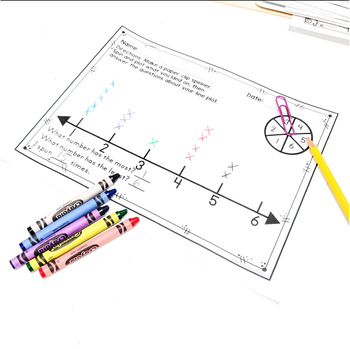Line Plots of Measured Lengths 2.MD.D.9 Common Core Math 2nd Grade
