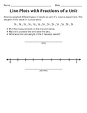 Line Plots with Fractions of a Unit #2