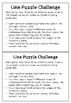 Line Poster and Line Puzzle Challenge