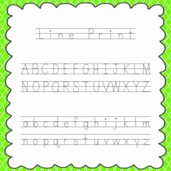 Line Print Font {personal and commercial use; no license needed}