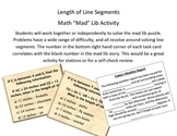 "Line Segment Math ""Mad"" Lib"